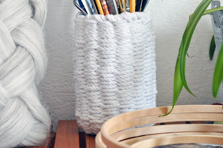 weaving without a loom -pot