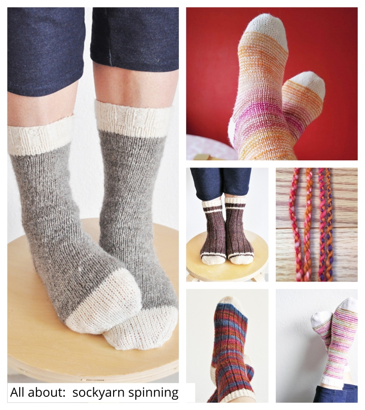 All about: Sockyarn spinning